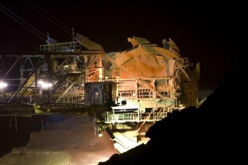 Brown Coal Open Pit Mining Bucket Wheel Excavators
