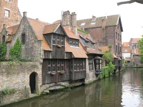 Brugge Belgium Canal