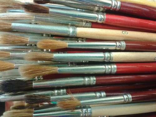 Brush Paint Brush Hair Brush Paint Brush Hair