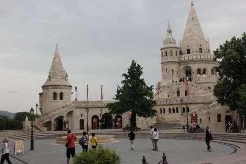 Budapest Fishermen'S Bastion Hungary Architecture