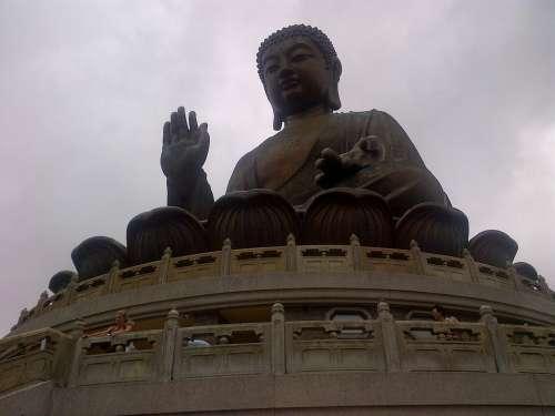 Buddha Statue Hong Kong Asian Vacations Holidays