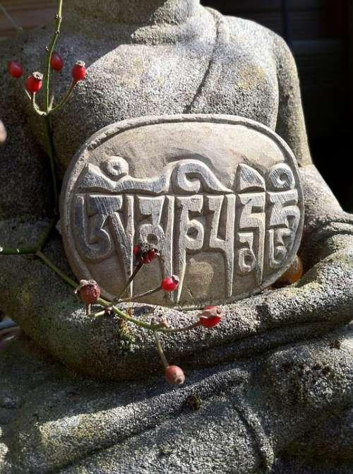 Buddha Buddha Figure Figure Relief Stone Engraving