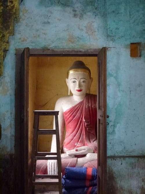 Buddha Religion Buddhism Zen Monk Deity Yoga