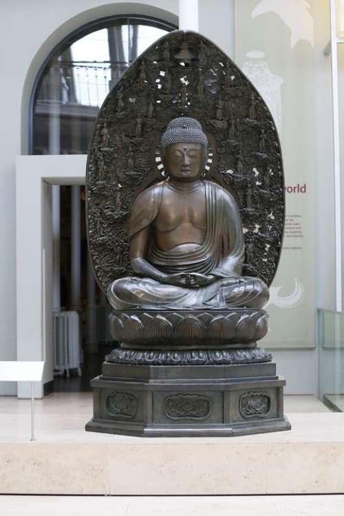 Buddha Statue Monument Exhibition Museum Thailand
