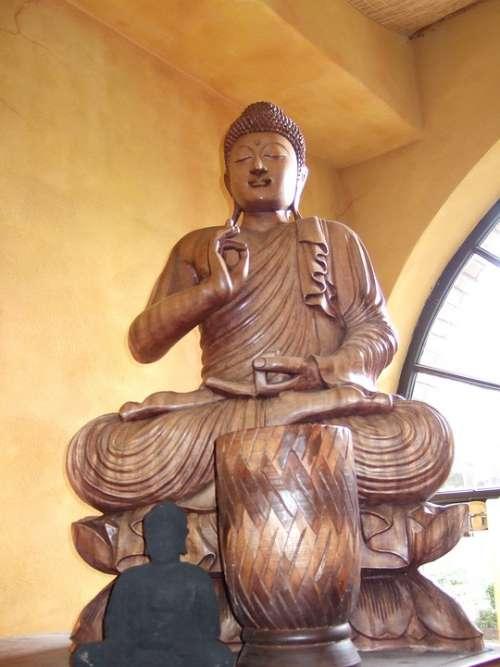 Buddha Rest Serenity Meditation Monastery China
