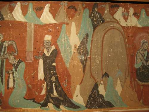 Buddhism Dunhuang Mural Exhibition Art Gallery