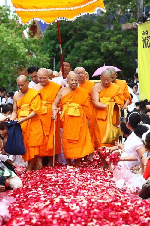 Buddhists Supreme Patriarch Patriarch Priests Monk