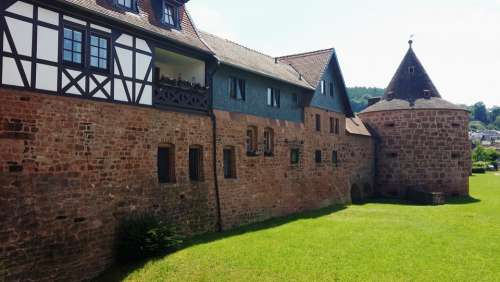 Büdingen Fortress City Wall Historic Center Bulwark
