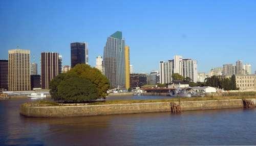 Buenos Aires Argentina City Buildings Architecture