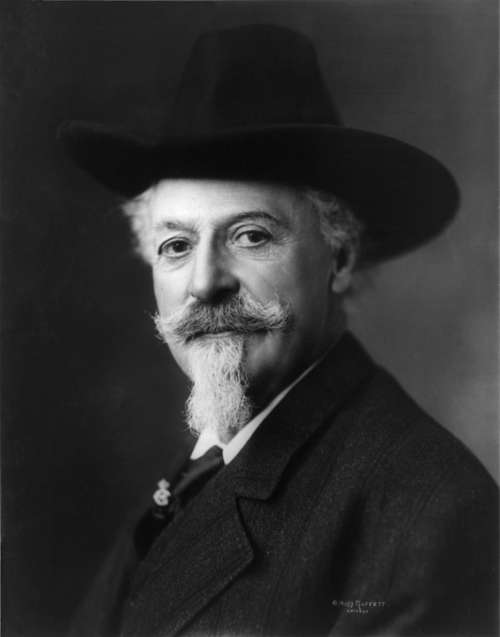 Buffalo Bill Man 1911 William F Cody Portrait
