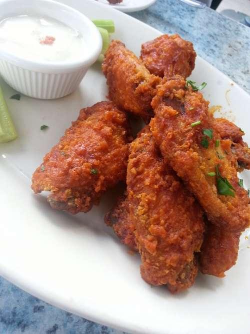 Buffalo Wings Chicken Fry