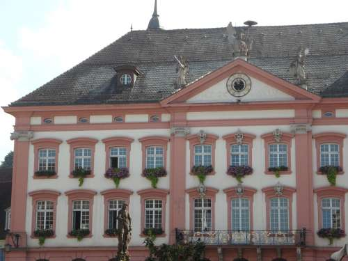 Building Town Hall Gengenbach Architecture