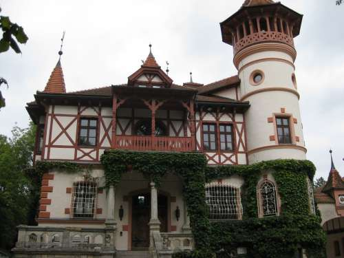 Building Castle House Architecture Old Europe