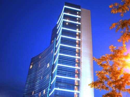 Building City Architecture Urban Cityscape Hotel