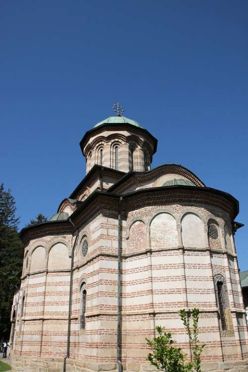 Buildings Calimanesti Church Cozia Monastery Old