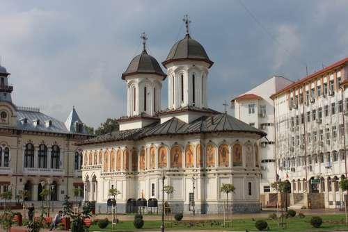 Buildings Church City God Gorj House Lord