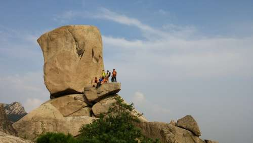 Bukhansan Mountain Private Rocks Climbing