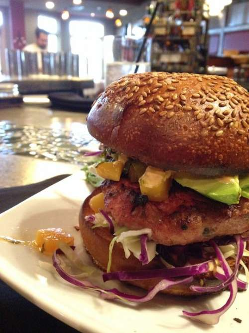 Burger Hamburger Cheeseburger Fast Food Meat