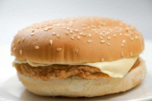 Burger Hamburger Fast Food Cheeseburger Sandwich
