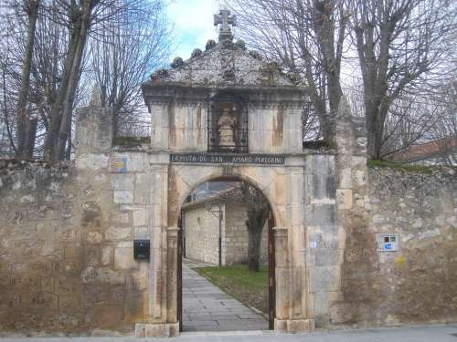 Burgos Spain Wall Stone Doorway Arch Arched