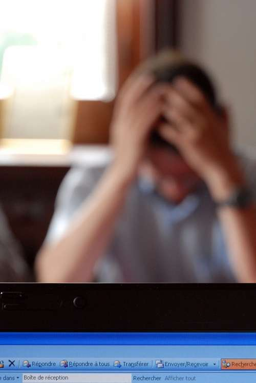Business Professional Stress