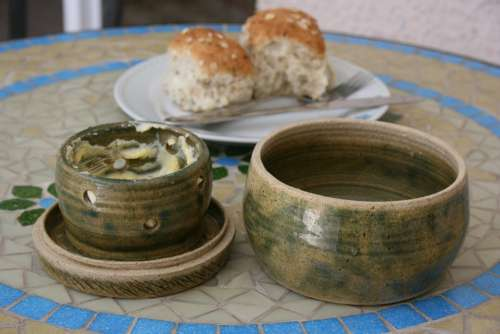 Butter Breakfast Ceramic Pot Bread Diet