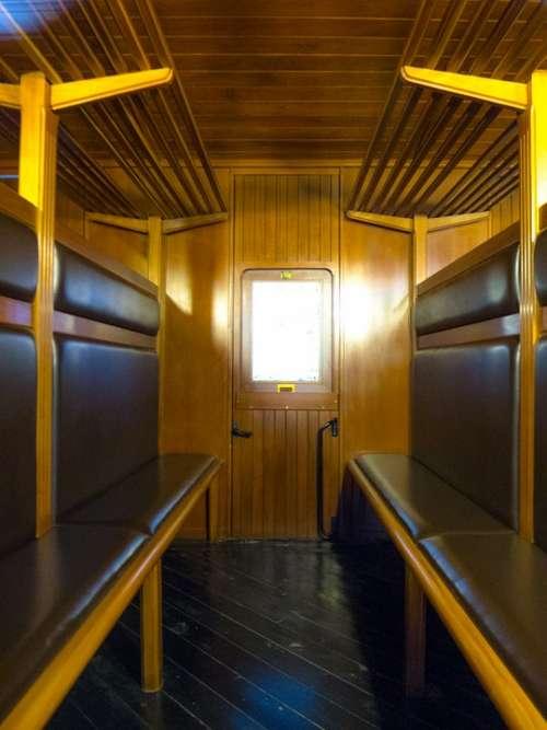 Cabin Wagon Compartment Train Travel Old Car
