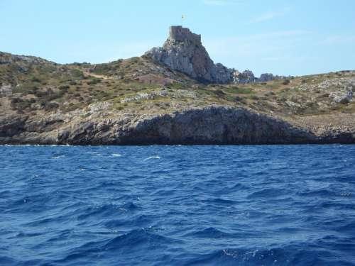 Cabrera Water Island Sea Shipping Boat Trip