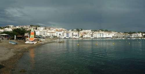 Cadaques Spain Sea Side Visit Salvator Dali