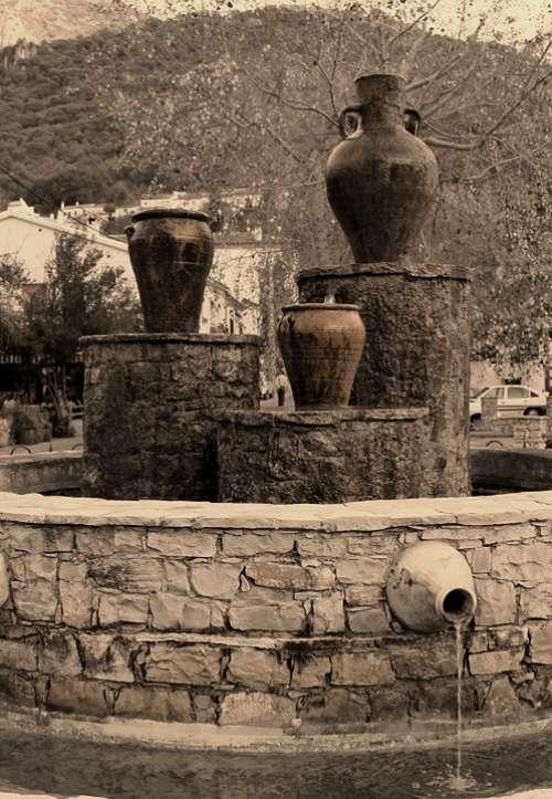 Cadiz Spain Sepia Source Nostalgic Colored Sepia
