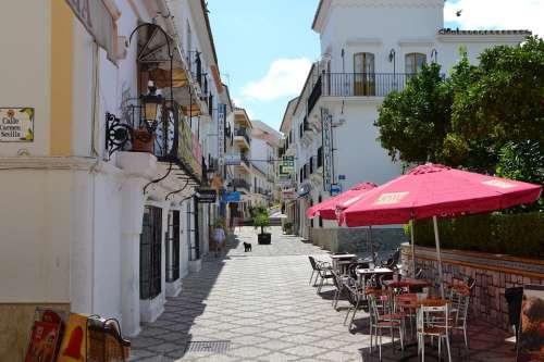 Cafe Spain Squares Street Estepona