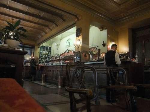Caffè Torino Turin Italy Indoors Tradition