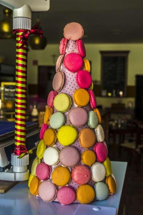 Cake Color Macaron Süteméy