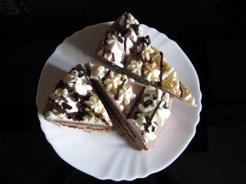 Cake Chocolate Cream Addiction Sugar
