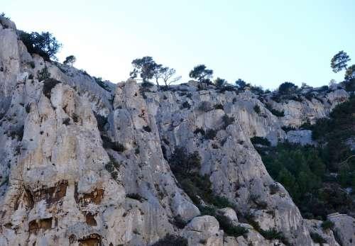 Calanques France Marseille Rocky Coast Rocky