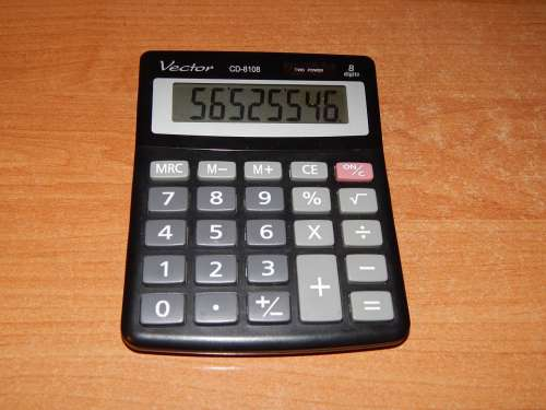 Calculator Counting The Number Of Digits