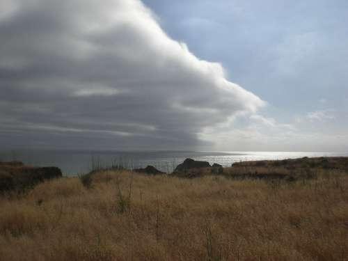 California Coast Weather Clouds Sky