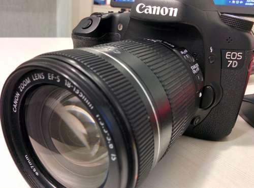 Camera Digital Camera Canon Dslr Canon Eos 7D