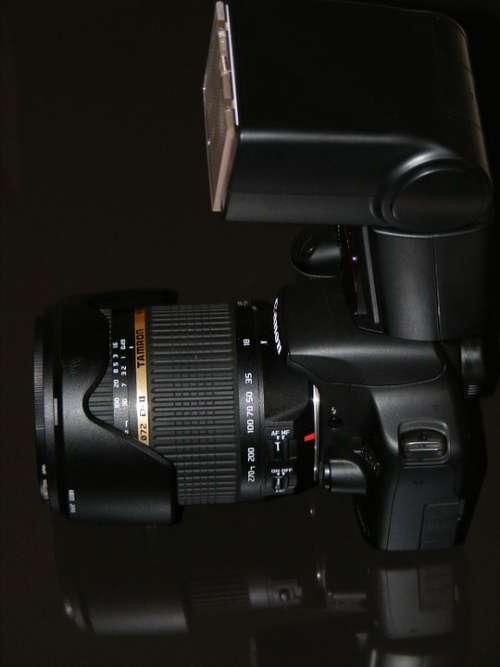 Camera Canon Di622 Digital Dslr Lens Nissin Slr