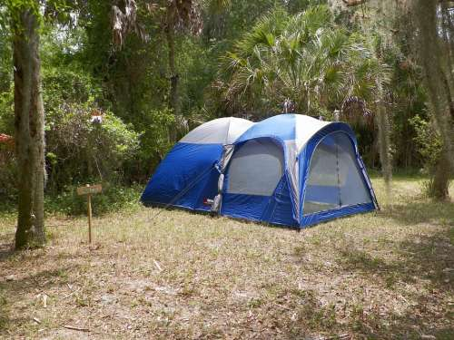 Camping Tent Camp Summer Forest Nature Vacation