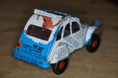 Can Car Auto Sheet Toy Car Africa Box From Cans