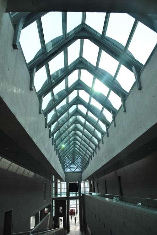 Canada Ottawa Art Gallery Hallway Building Inside