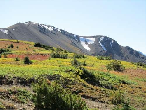 Canada Mountains Eldorado Outdoor Wilderness
