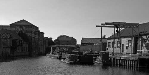 Canal Warehouse River Nottinghamshire Bridge