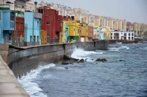 Canary Islands Sea Beach Water Seashore The Coast