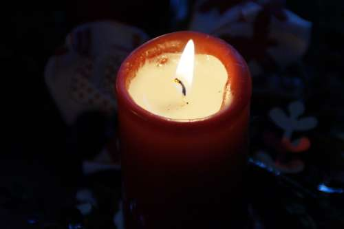 Candle Burn Advent Advent Wreath Christmas Time