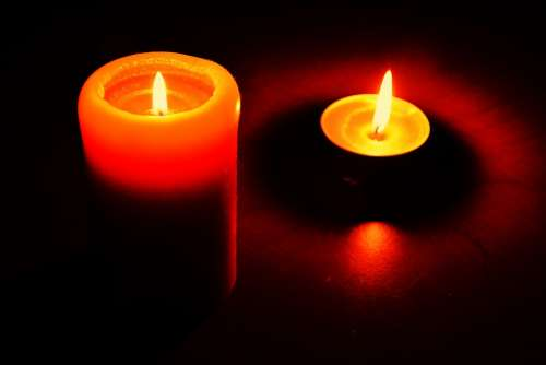 Candle Candle Flame Flame