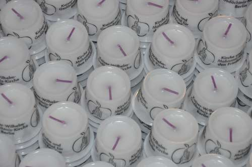 Candle Wick White Decoration