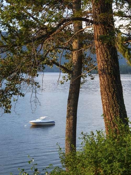 Canim Lake British Columbia Canada Scenery