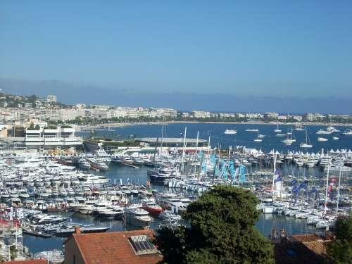 Cannes Porto French Riviera Boats